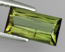 1.65 CTS BEAUTIFUL RARE NATURAL GREEN TOURMALINE MOZAMBIQUE
