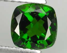 Eye Catching Natural Rich Green Chrome Diopside Cushion NR!!!