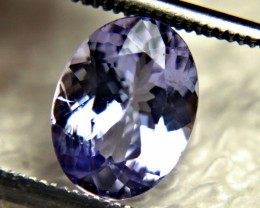 1.78 Ct. African VS Purple / Blue Tanzanite - Gorgeous