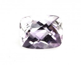 2.14cts Natural Purple Amethyst Cushion Checker Board Shape