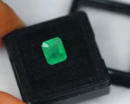 2.23Ct Natural Zambia Emerald Lot V1524