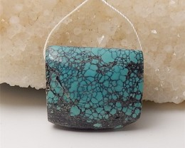 89ct On Sale Natural Turquoise Pendant (18060704)