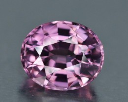 1.06 Ct. Pink Spinel, VVS, Perfect pink color and Hue. Oval, Burma