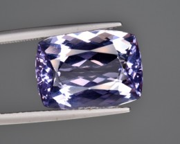 7.64 GIA Certified Natural Maxixe (Violet Beryl) Gemstone