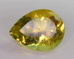 28.55 CT GORGEOUS  COLOR NATURAL CITRINE GEMSTONE AA