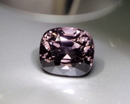 UNHEATED 3.06 CTS NATURAL BEAUTIFUL PURPLE SPINEL MOGAK BURMA