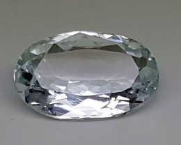3.45 Cts AQUAMARINE  Best Grade Gemstones JI 60