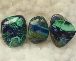 72.5ct Specialoffer Beautiful Nugget Blue Azurite Cabochon (18060813)