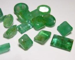 25.80cts  Emerald Parcel, 100% Natural Gemstones