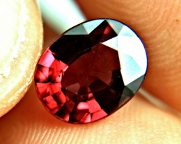 3.01 Ct. African VS Raspberry Malawi Fancy Cut Garnet - Gorgeous