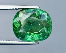 Certified 6.16 Cts Paraiba Tourmaline Attractive Higher Color ~ Mozambique