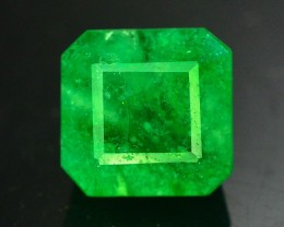 4.40  ct Natural Emerald Untreated