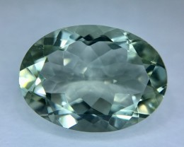 10.10 Crt Prasiolite Green Amethyst  Faceted Gemstone (R 193)