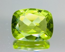 1.95 Crt Peridot Faceted Gemstone (R 193)