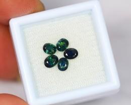 1.93ct Natural Greenish Blue Sapphire Oval Cut Lot GW1591