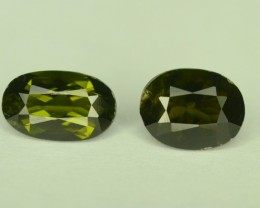 Rare Collectors Gem ~ 1.45 ct 2 Pcs Natural Kornerupine