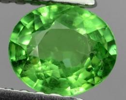 ATTRACTIVE LUSTER GREEN NATURAL TSAVORITE GARNET