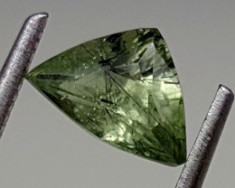 0.90Crt Rutile Peridot  Best Grade Gemstones JI 61