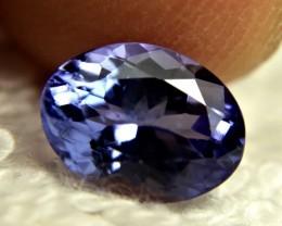 1.80 Ct. African Blue Tanzanite VVS/VS - Gorgeous