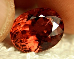8.50 Carat Orange SI African Tourmaline - Gorgeous