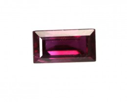 0.53cts Natural Ruby Baguette Shape