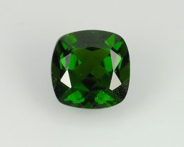 1.10  CTS NATURAL ULTRA RARE CHROME GREEN DIOPSIDE RUSSIA