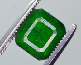 1.85 Ct Brilliant Color Natural Swat Emerald ~ A