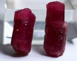 48 Ct Unheated ~ Natural  Superb Pink Tourmaline Crystal Lot