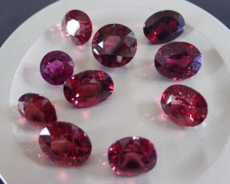 ROSE GARNET 20.040CT ,CEYLON LOT best quality