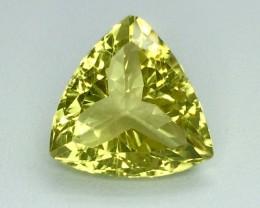 8.99 Crt Natural Lemon Quards Sparkling Luster Faceted Gemstone (MG 07)