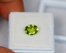 1.78Ct Natural Green Peridot Oval Cut Lot LZ683