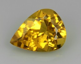 4.45 CTS DAZZLING GOLDEN YELLOW NATURAL HELIODOR YELLOW BERYL NR!!!