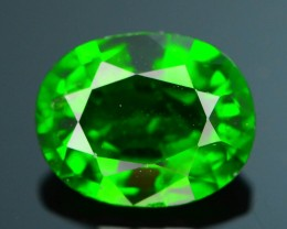 Forest Green Russian 1.25 ct Chrome Diopside SKU.1