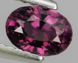 EXTREMELY FINE FIRE NATURAL PURPLE-SRILANKA SPINEL NR☆☆☆