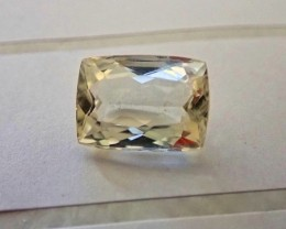 6.00 ct Bueatiful Natural Master Cut Afghan yellow Kunzite Gemstones