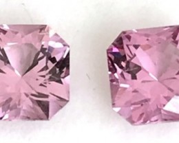 A Glittering Pair of Gorgeous Pink Spinels - Burma F124