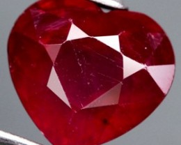 2.79 Cts. Top Quality Blood Red Ruby  Madagascar Gem