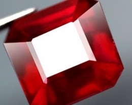8.07 Cts. Top Quality Blood Red Natural Ruby Madagascar Gem