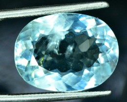 No Reserve - 5.15 cts Natural Aquamarine Loose gemstone from pakistan