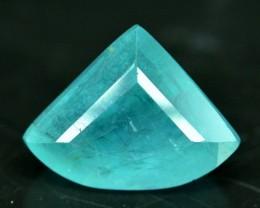 No Reserve - 3.35 cts Curved Fancy Trillion Cut Rare Grandidierite Gemstone