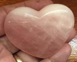 510 CTS PINK QUARTZ HEART SHAPE GEMSTONE GG  2160