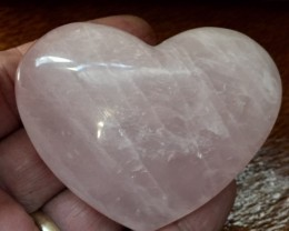 635 CTS PINK QUARTZ HEART SHAPE GEMSTONE GG 2162