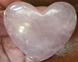 1100 CTS PINK QUARTZ HEART SHAPE GEMSTONE GG 2163