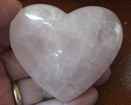 815 CTS PINK QUARTZ HEART SHAPE GEMSTONE GG 2166