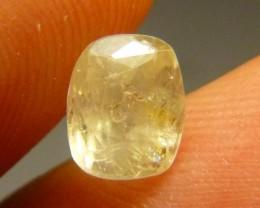 2.18ct Yellow  Ceylon Sapphire , 100% Natural Untreated Gemstone