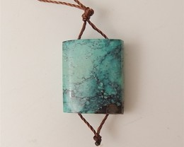 13.5ct Hot Sale Natural Turquoise Pendant Beads(18061407)