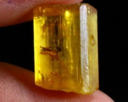 7.80 CT Natural  Beautiful Golden Yellow Heliodor Crystal