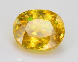 2.15 Ct Amazing Fire Natural Titanite Sphene ~ RA