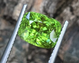 4Ct Top Luster Great Colour Peridot