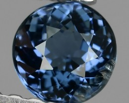 ~STUNNING FIRE RAREST BEST-BLUE COLOR SPINEL ROUND CUT NR!!!